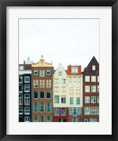 Framed Amsterdam Morning No. 1