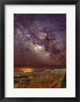 Framed Milky Way over Bryce Canyon