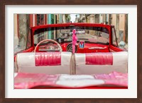 Framed 50's Car, Havana