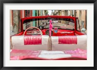 Framed 50's Car, Havana