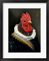 Framed Le Coq Hardi
