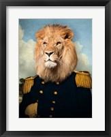 Framed Le Lion