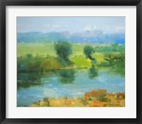 Framed Summer Lake
