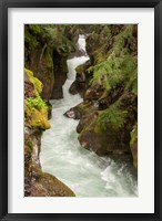 Framed Glacier National Park, Montana Avalanche Creek