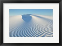 Framed Ripple Patterns In Gypsum Sand Dunes, White Sands National Monument, New Mexico