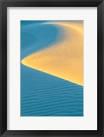 Framed New Mexico, White Sands National Park, Sand Dunes At Sunrise