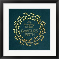 Framed Saviour's Birth Wreath