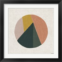 Framed Terracotta Circle