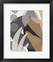 Framed Neutral Abstract I