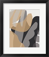 Framed Neutral Abstract II