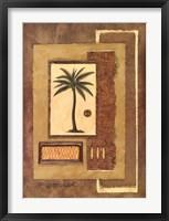 Framed Caracas Palm I