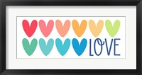 Framed Love Hearts