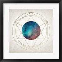 Framed Geo Planet