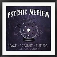 Framed Psychic Medium