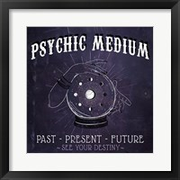 Framed Psychic Medium