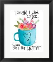 Framed Coffee Creamer