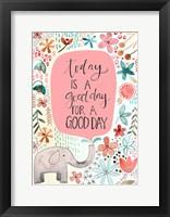 Framed Good Day