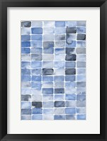 Framed Blue Abstract