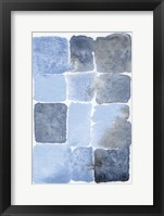 Framed Blue Abstract II