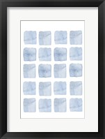 Framed Blue Abstract III