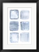 Framed Blue Abstract IV