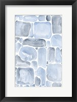 Framed Blue Abstract VI