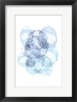 Framed Blue Abstract VII