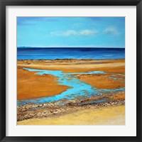 Framed Blue Horizon