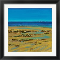 Framed Coastal Colour Strip I