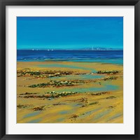 Framed Coastal Colour Strip I