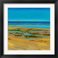 Framed Coastal Colour Strip III