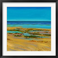 Framed Coastal Colour Strip III