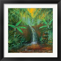 Framed Jungle Pool