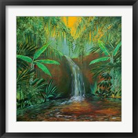 Framed Jungle Pool