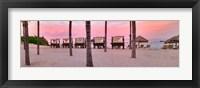 Framed Pink Beach