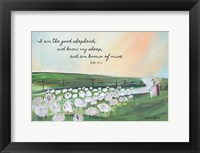 Framed Parable of the Lost Sheep