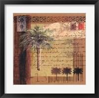 Framed Circa Palm I