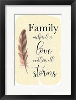 Framed Family Anchored