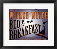 Framed Wicked Witch B&B