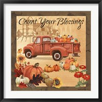Framed Count Your Blessings II