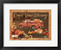 Framed Count Your Blessings IV