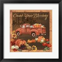 Framed Count Your Blessings V