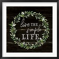 Framed Simple Life
