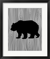 Framed Woodland Bear