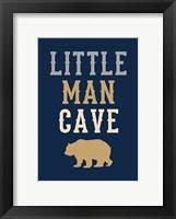 Framed Little Man Cave