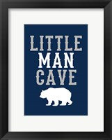 Framed Little Man Cave