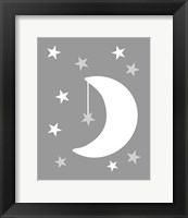 Framed Moon Stars