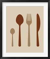 Framed Dining Utensils