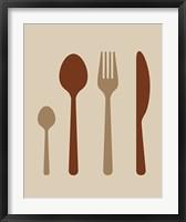 Framed Dining Utensils