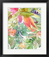 Framed Tropical Watercolor II
